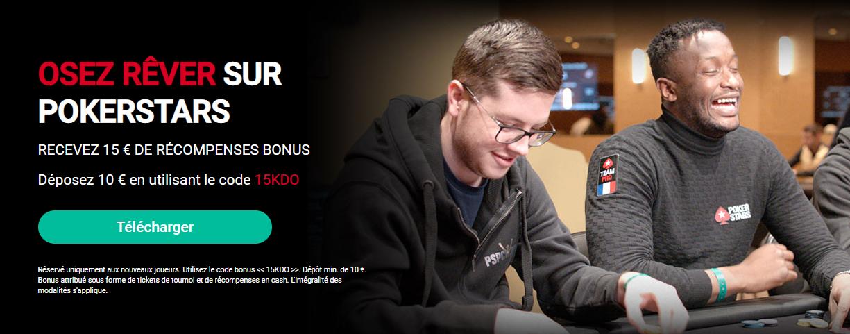 pokerstar offr bonus